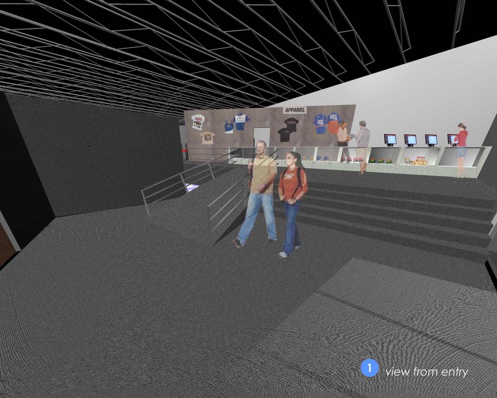Retail Arcade concept