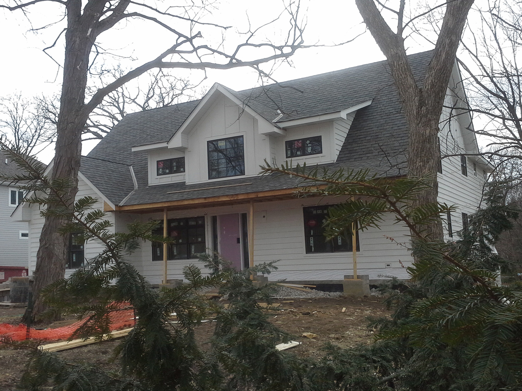 Modern farmhouse in Glen Ellyn, IL.