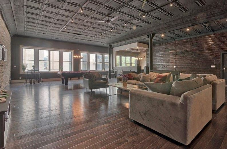 Chicago Loft Tin Ceiling