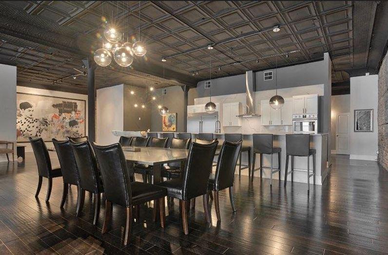 Loft Dining Room Chicago